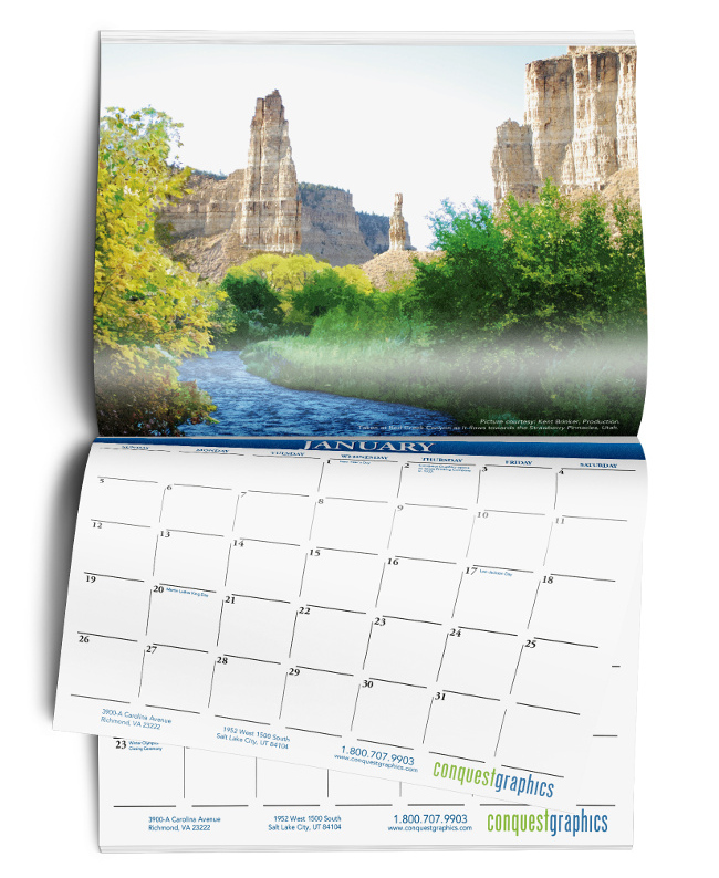 Full-Color, High Quality Calendar Printing