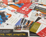 Print marketing materials for trade shows