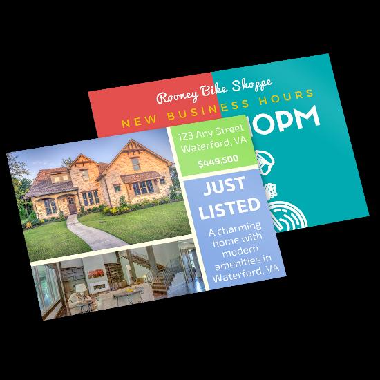 Flat EDDM/EDDM Postcard Printing