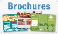 Brochures from Conquest Graphics