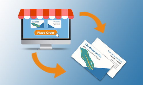 How ordering portals help successful companies order business cards.