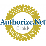 Authorize.net seal showing we use them for authorized credit card payments.