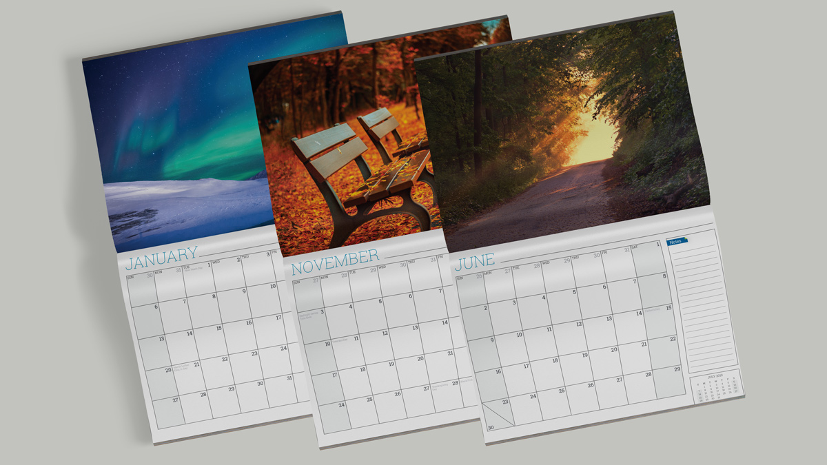 Conquest Graphics offers a brand new 2019 calendar creator for you to create your very own branded calendars.