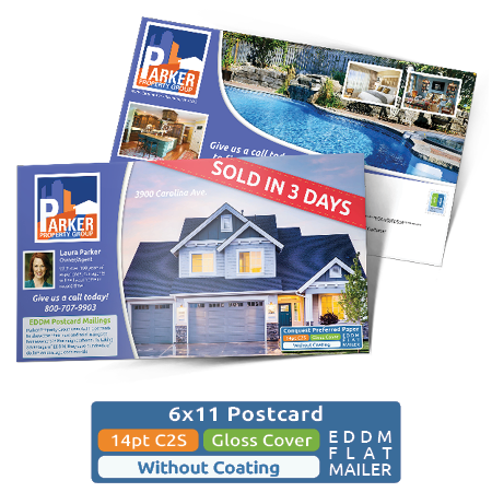 Direct Mail Idea Pack - 6x11 Postcard