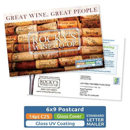 6x9 postcard