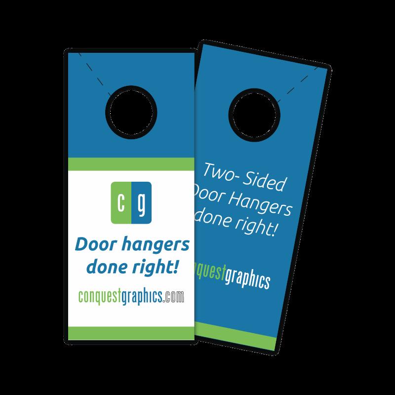 Door Hangers Rendering