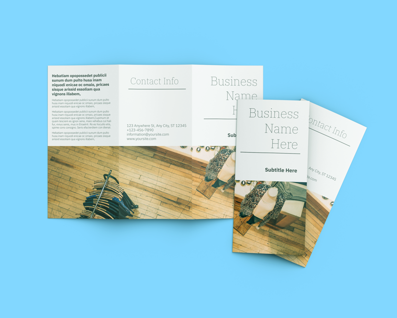 Free templates for 7x11 trifold brochures