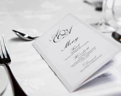 using the half fold brochure template you can design menus for restaurants or programs for