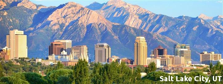 Salt Lake City UT Skyline - CG